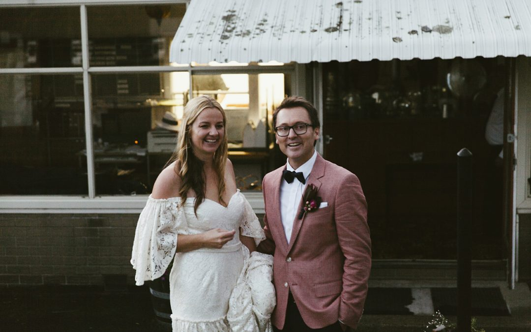 Real Bride: Jen + Dehne