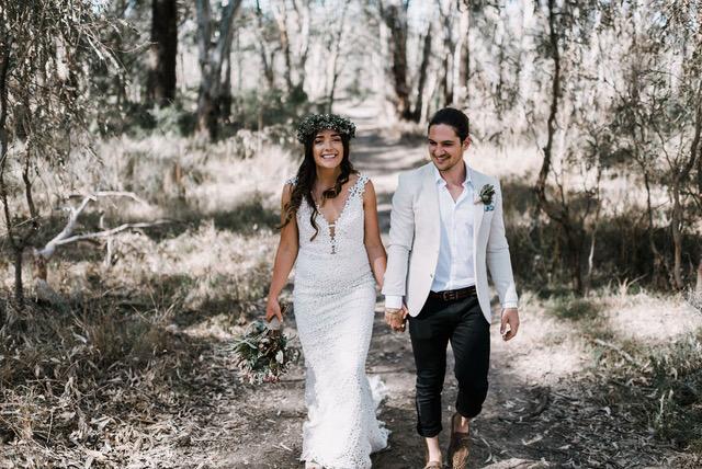 REAL BRIDE: ALANA + DUSTY