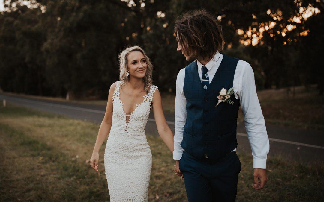 REAL BRIDE: KYLA + DAMIEN