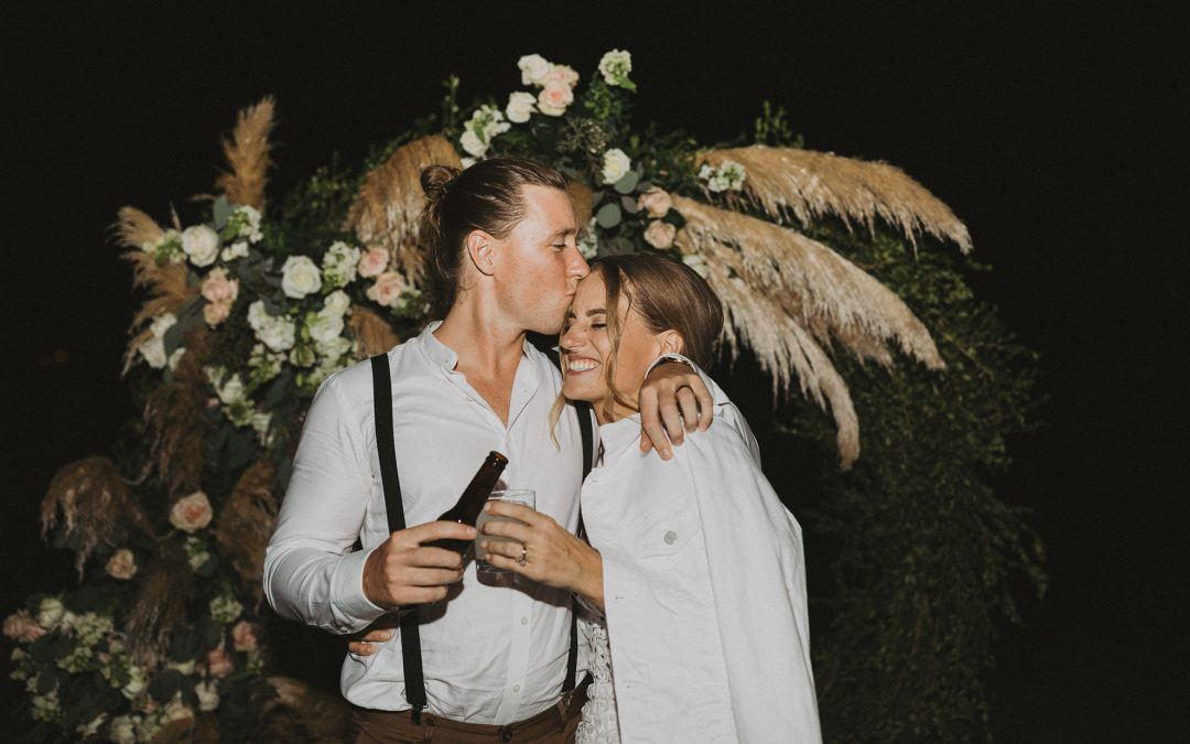 REAL BRIDE: JENNA + LACHLAN